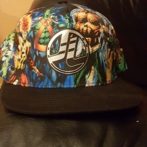 Youth Justice League flat brim hat